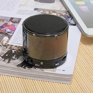 Mini Metal HiFi BeatBox A2DP Bluetooth TF MP3 Player Handfree Mic Stereo Speaker by MECO Co.,LTD