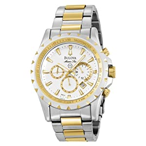 Bulova Men's 98B014 Marine Star Chronograph Watch by Bulova