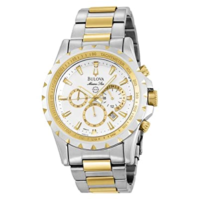 Bulova Men's 98B014 Marine Star Chronograph Watch from Bulova