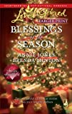 Blessings of the Season: The Holiday HusbandThe Christmas Letter (Love Inspired Larger Print) (0373814402) by Jones, Annie