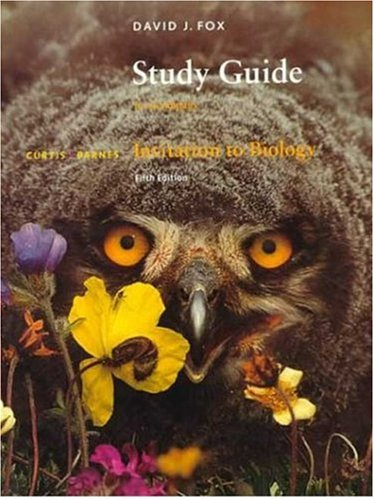 Study Guide to Accompany Invitation to Biology