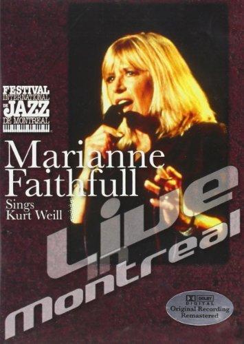 Marianne Faithfull - Sings Kurt Weill Live in Montreal [DVD] [2002]