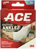 ACE Knitted Ankle Support, Large, 1 Count