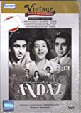 Andaaz (1949) (Starring Dilip Kumar / Raj Kapoor / Nargis / Bollywood Hindi DVD With English Subtitles)