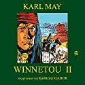 Winnetou II Audiobook by Karl May Narrated by Karlheinz Gabor