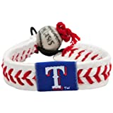 Gamewear Rangers Gamewear Mlb Leather Wrist Bands
