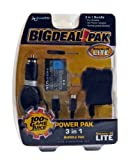 Nintendo DS Lite Power Pak 3 in 1 Bundle Black