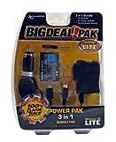 Nintendo DS Lite Power Pak 3 in 1 Bundle Black