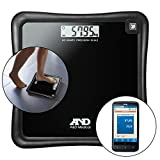 A&D Medical Precision Health Scale UC-324NFC with Wireless Smartphone Conne ....