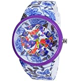 Super Drool Floral Smile Wrist Watch