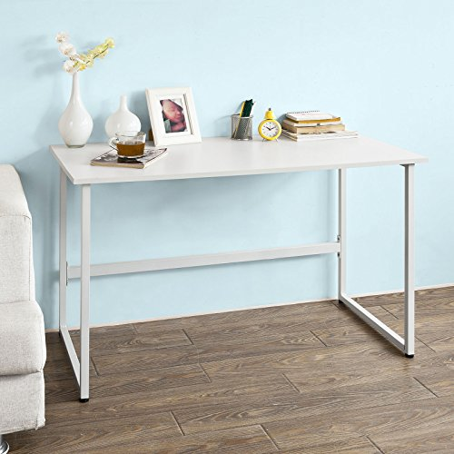 SoBuy-Schlichtes-Design-Tisch-Schreibtisch-Computertisch-Brotisch-Kinderschreibtisch-FWT13-W