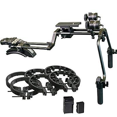 Vidpro MR-500 Motorized Focus & Zoom Shoulder Rig for Digital SLR Cameras