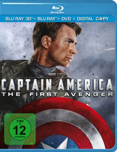 Captain America - The First Avenger (+ Blu-ray + DVD) [Blu-ray 3D] [Limited Edition]