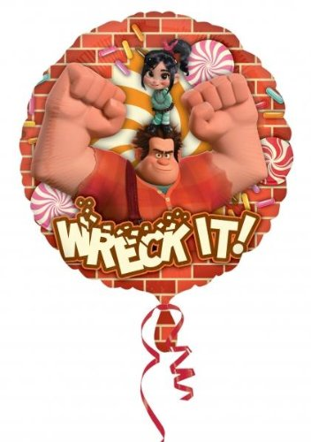 "Disney's Wreck It Ralph 18"" Foil Balloon with Vanellope"