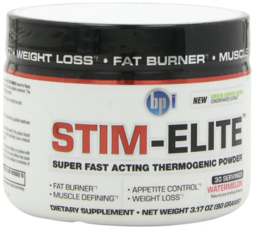 BPI Sports Stim Elite Diet Supplement, Watermelon, 90 Gram