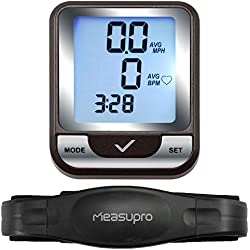 MeasuPro Wireless Computer, tachimetro e cardiofrequenzimetro per Bicicletta