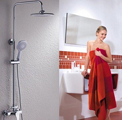 moderne zeitgem e stilvollen luxus badezimmer dusche wasserhahn messing bad luxus regen mixer. Black Bedroom Furniture Sets. Home Design Ideas