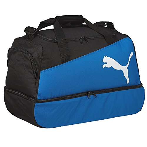 Puma, Borsa sportiva da calcio Pro Training, Nero/Blu/Bianco (black-puma royal-white)