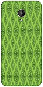 Snoogg Life Symptoms Green Trees Designer Protective Back Case Cover For Micromax Canvas Spark Q380