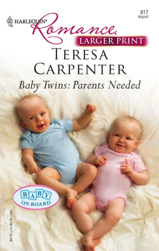 Image for Baby Twins: Parents Needed (Harlequin Romance Series - Larger Print)