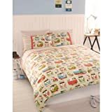 Active Campervans Multi Duvet Set - Kingsize with a
