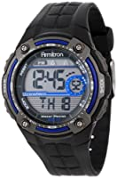 Armitron Men's Digital Blue and Gray Chronograph Sport Watch from Armitron