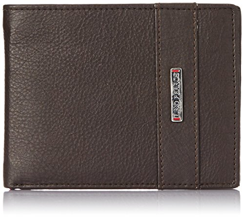 Lino Perros Brown Men's Wallet (LMWL00335 BROWN)