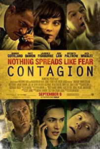 Contagion Regular Movie Poster Double Sided Original 27x40
