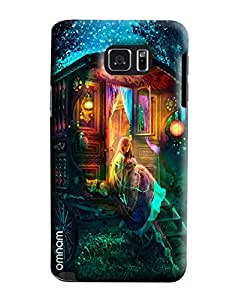 Omnam Fairy Tail Sitting In Wonderland Printed Designer Back Cover Case For Samsung Galaxy Note 5