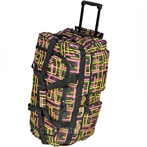 Borderline Large 27 Inch Wheeled Holdall Bag