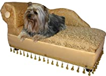 Big Sale Fantasy Furniture Cleopatra Chaise Elegant Gold Pet Bed