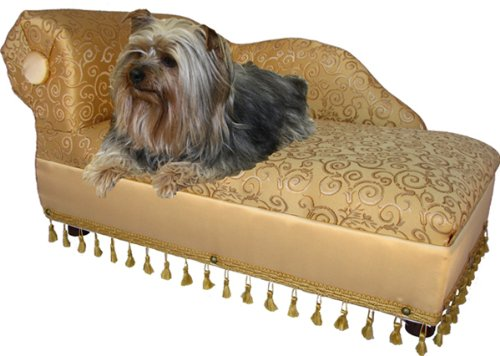 Fantasy Furniture Cleopatra Elegant Chaise Pet Bed