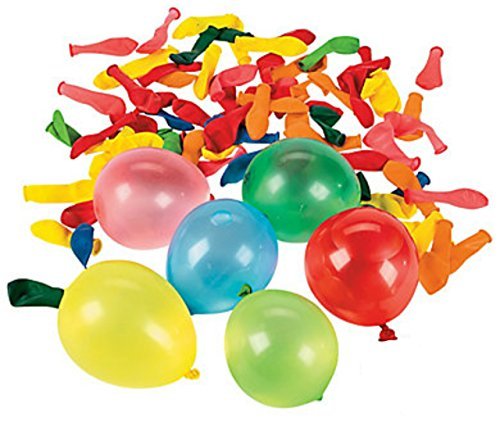 Mylife Multi Colored - Flexible Latex Rubber (100 Count Pack - Standard Size) Water Bomb Grenade Balloons (Fantastic For 4Th Of July Parties)