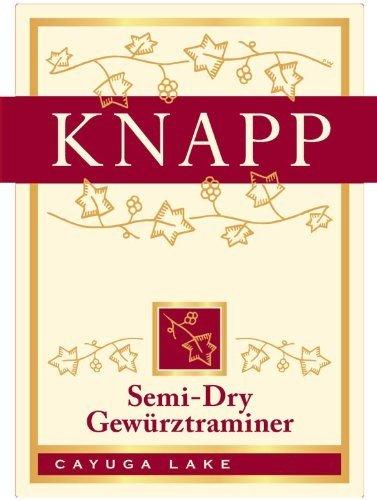 2013 Knapp Winery Cayuga Lake Semi-Dry Gewerztraminer 750 Ml