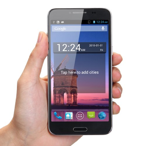 LANDVO Schwarz 5.0 Zoll 3G-Smartphone