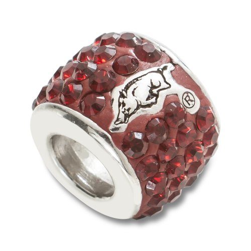 NCAA Arkansas Razorbacks Premier Bead
