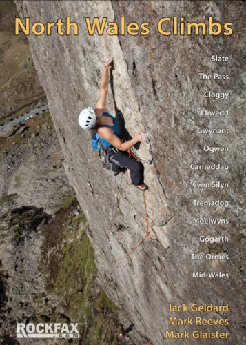 North Wales Climbs: Rockfax Rock Climbing Guidebook