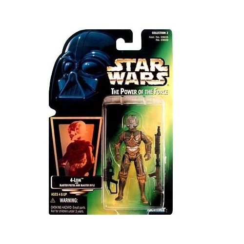 Star Wars: Power of the Force Green Card 4-LOM Action Figure