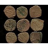 1 - ONE COIN - AYYUBID Empire Hammered Copper Coin Damascus Mint. � Fals. Arabic Text. 1200 A.D. ~ CUT and PASTE:...