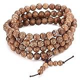 Jstyle-8mm-Holz-Armband-Paare-Armkette-Halskette-Holzkugel-Holzkette-Buddha-108-Kugel-verliebte-Kette-Freundschaftkette-fr-Damen-Herren