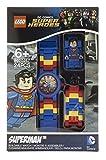 LEGO-Unisex-Armbanduhr-DC-Universe-Superman-Analog-Quarz-Plastik-8020257