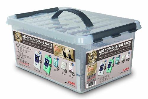 AEG Sorglos plus Paket s bag Staubbeutel, HEPA H 13 Filterung, Sachets mit Blütenduft für