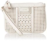 Nine West Show Stopper Slg Wristlet Wallet,Chalk,One Size