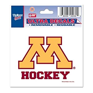 Buy Minnesota Golden Gophers Official NCAA 3x4 Car Window Cling Decal by Wincraft by WinCraft