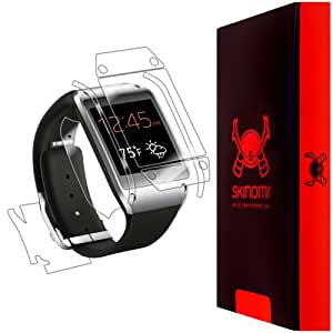 Skinomi® TechSkin - Samsung Galaxy Gear Screen Protector + Full Body Skin Protector with Lifetime Replacement / Front & Back Premium HD Clear Film / Ultra Invisible and Anti-Bubble Crystal Shield