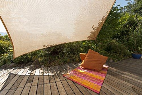 Windhager 10906 - Vela de sombra para patio