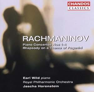 Rachmaninov: 4 Piano Concertos/Rhapsody on a Theme of Paganini