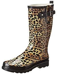 Western Chief Women's Leopard Exotic Rain Boot