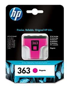HP 363 Cartouche d'encre d'origine Magenta