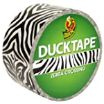 Duck 48mm x 9.1m Zebra Crossing Duck...